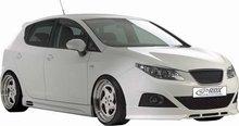 Spoiler parachoques delantero para Seat Ibiza 6J 3/5drs 6/08- excl. FR/Cupra (ABS)