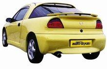 Aleron deportivo para Opel Calibra + Luz de freno