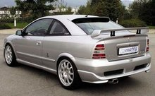 Aleron deportivo para Opel Astra G Coupe 9/99- (vlak)