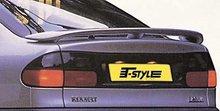 Aleron deportivo para Renault Laguna