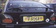Aleron deportivo para Renault Megane 5D Wing