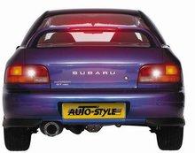 Aleron deportivo para Subaru Impreza Sedan WRC + Luz de freno