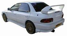 Aleron deportivo para Subaru Impreza STi-V6-look + Luz de freno -