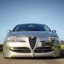 Añadido Parachoques delantero para Alfa Romeo 147 kit Konigseder