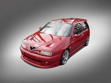 Spoiler Parachoques delantero Alfa Romeo 145 2000 Kit Cadamuro