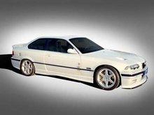 Añadido parachoques delantero BMW E36 kit cadamuro