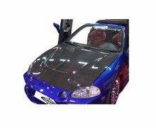 Capo con entrada aire en carbono para Honda Del Sol