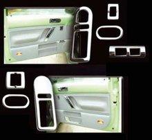 Conjunto interior puerta cromada VW Beetle