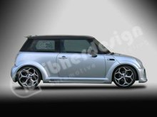 Extension arcos traseros para kit Ibherdesign Brutus Mini Coop