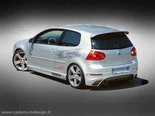Aleron luneta trasera VW Golf V Kit GT 5 Cadamuro