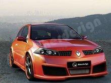 Kit de carroceria Ibherdesign para Renault Megane II Vega EVO