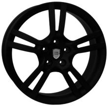 Llantas replicas Porsche WSP W1054 SATURN Negro Mate 21x10 pulgadas ET 45