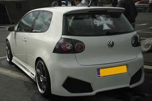 Parachoques trasero VW Golf V Max Power Invader