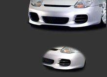 Paragolpes delantero + lamina en carbono kevlar Porsche Boxster