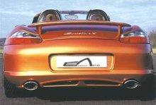 Parachoques trasero salida doble Porsche Boxter kit Fashion Es