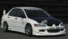 Spoiler delantero Charge Speed para Mitsubishi Lancer EVO 8