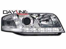 Faros delanteros luz diurna DAYLINE para AUDI A6 4B 01-04