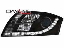 Faros delanteros luz diurna DAYLINE para AUDI TT 98-05 negros