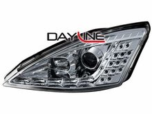 Faros delanteros luz diurna DAYLINE para Ford Focus 01-04