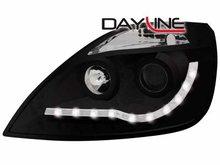 Faros delanteros luz diurna DAYLINE para Ford Fiesta 02-05 negr