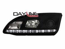 Faros delanteros luz diurna DAYLINE para Ford Focus 05-08 negro