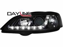 Faros delanteros luz diurna DAYLINE para Opel Astra G 98-04 neg