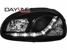 Faros delanteros luz diurna DAYLINE para Opel Corsa B 3/5T negr