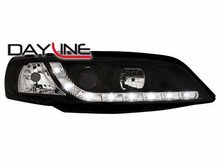 Faros delanteros luz diurna DAYLINE para Opel Vectra B 99-01 ne