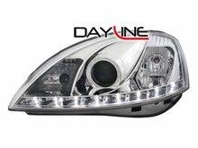 Faros delanteros luz diurna DAYLINE para Opel Corsa C 01-03