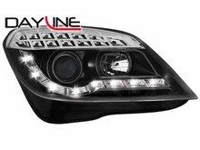 Faros delanteros luz diurna DAYLINE para Opel Astra H 04-07 neg