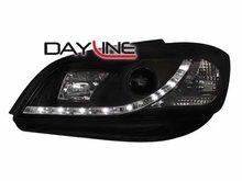 Faros delanteros luz diurna DAYLINE para Opel Zafira 99-05 negr