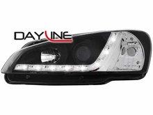 Faros delanteros luz diurna DAYLINE para Peugeot 106 96-99 negr