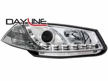 Faros delanteros luz diurna DAYLINE para Renault Megane 03-06