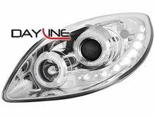 Faros delanteros luz diurna DAYLINE para Renault Twingo II 07+