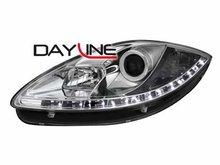 Faros delanteros luz diurna DAYLINE para Seat Leon 1P1 05-09
