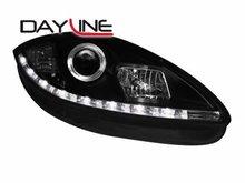 Faros delanteros luz diurna DAYLINE para Seat Leon 1P1 05-09 ne