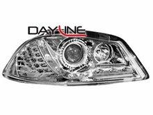 Faros delanteros luz diurna DAYLINE para Seat Ibiza 6L 03-08