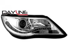 Faros delanteros Dayline Luz diurna de LEDs VW Tiguan 07-11